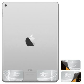 iPad Radiation Protection - Start Lowering Absorption Today! Cellsafe Radi-Chip for <b>iPads Cellular (3G&4G)</b>. Reduces SAR by up to 87.7%*